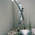 ウサギ蛇口の立水栓